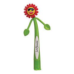 Customized Flower Bend-A-Pen