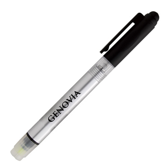 Customized Illuminate 4-In-1 Highlighter Stylus Pen w/ Light