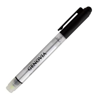 Customized Illuminate 4-In-1 Highlighter Stylus Pen w/ Light