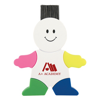 Customized 4 Color Mr. Highlighter with Computer Sweeper