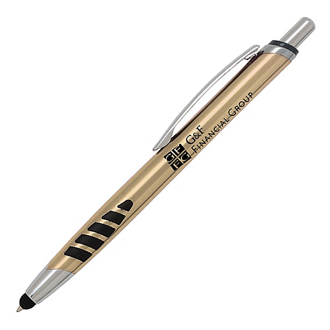 Customized Stylus Classic Click White Pen
