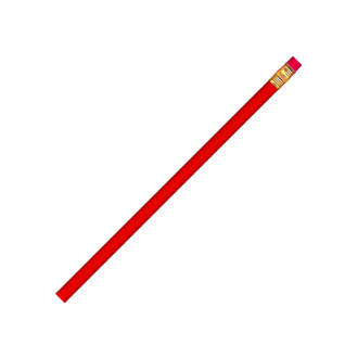 Customized Red Newsprencil