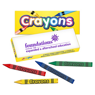 Customized Kido Mini Crayon Box - 4 Pack