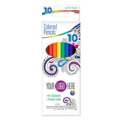 Customized Color Therapy® Colored Pencils - 10 Ct