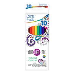 Customized Colour Therapy® Coloured Pencils - 10 Ct