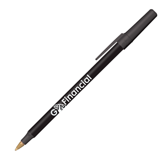 Customized BIC® Round Stic® Antimicrobial Pen