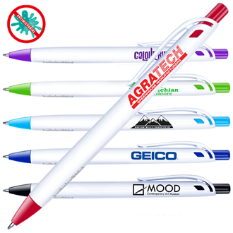 Customized Antimicrobial Click Pen