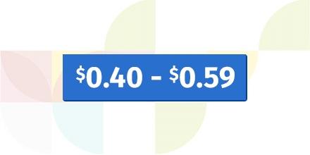 $.40 - $.59