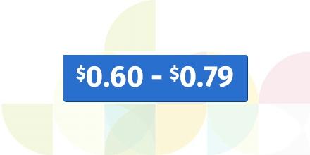 $.60 - $.79
