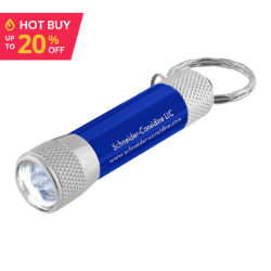 Customized LED Flashlight Keychain